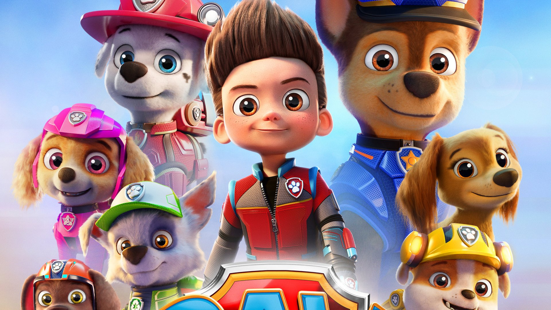 The characters of Paw Patrol.