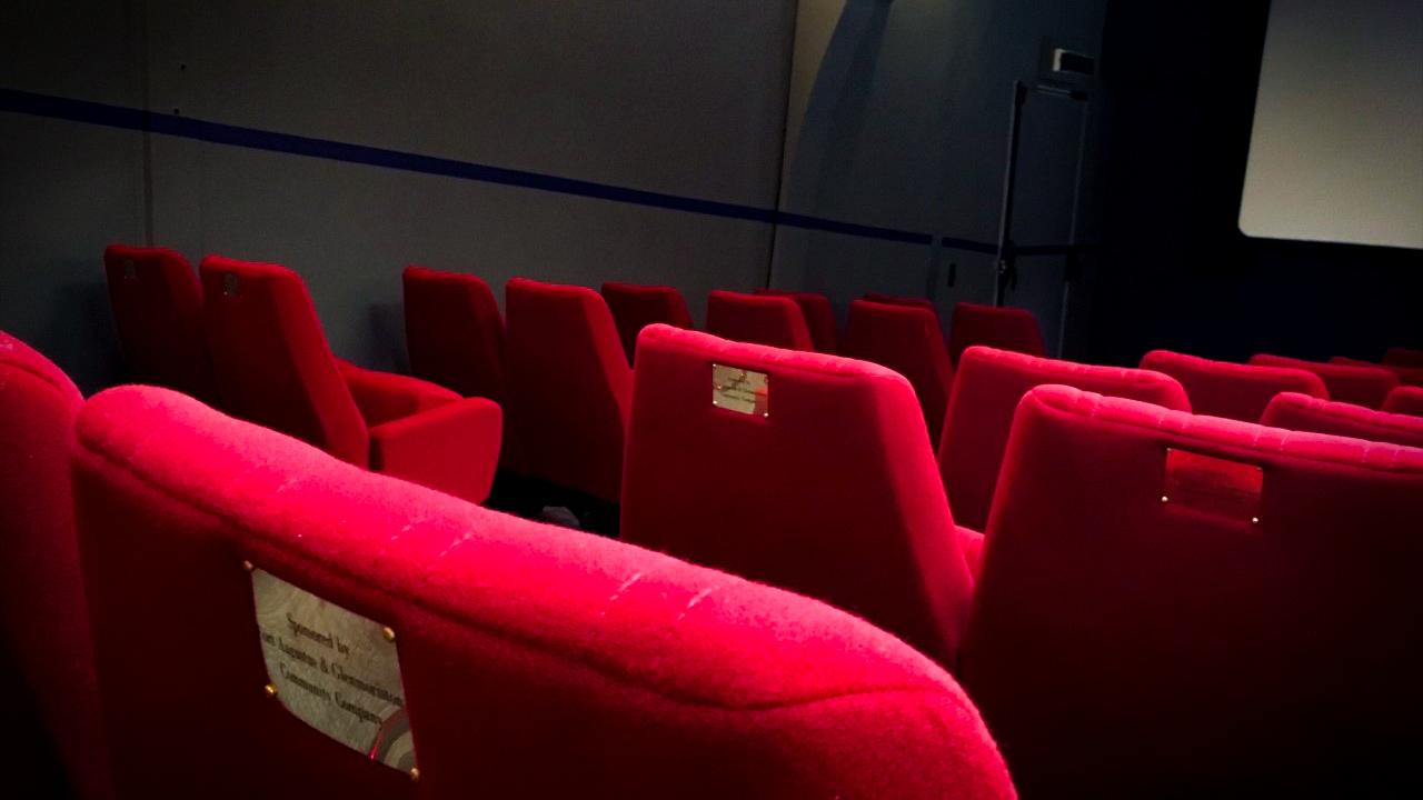 Seats in Screen Machine.